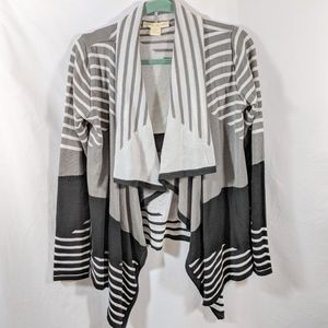 Anthropologie Staring at Stars Striped Duster
